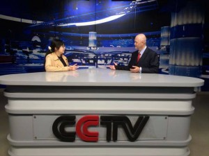 Fred & Iris in CUC simulated CCTV studio