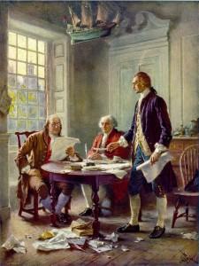 Writing the Declaration by JLG Ferris